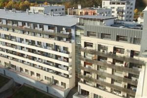 objekt F v projektu Terasy Červený Vrch Praha 6 - Vokovice, Irská ulice, ceny bytů v roce 2001