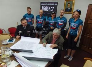 Cyklo-běh za Českou republiku bez drog