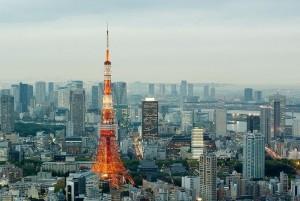 nejvyšší televizní věž na světě Tokio