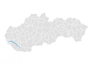 Malý Dunaj mapa