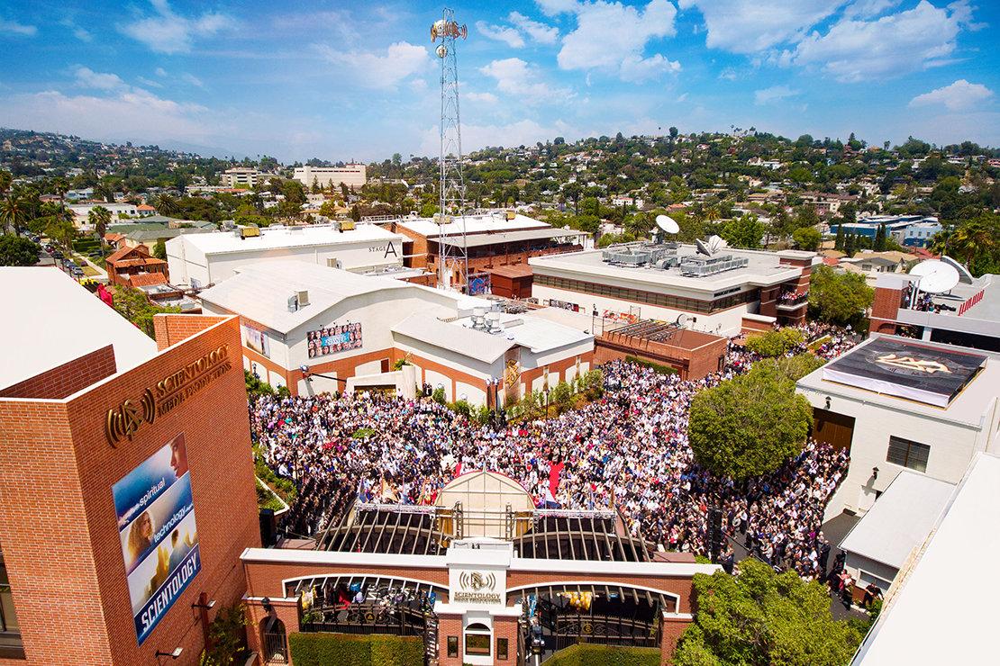 Areál studií Scientologické televize