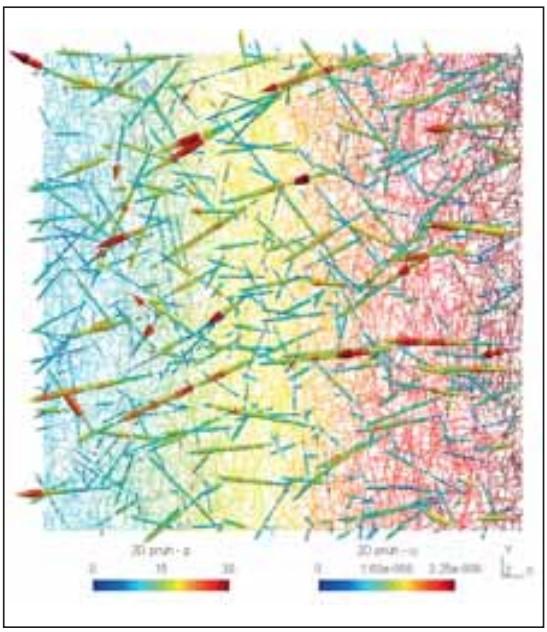 Odhad mezikrystalových kontaktních sil měřením kinematického pole