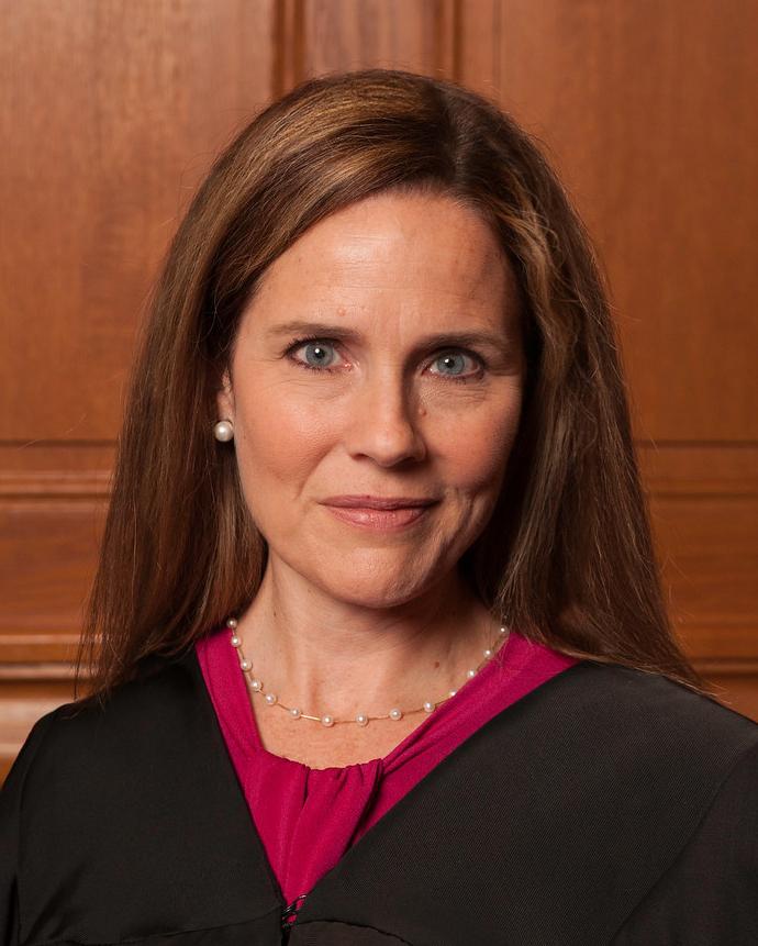 Amy Coney Barrett  soudkyně Nejvyššího soudu Spojených států