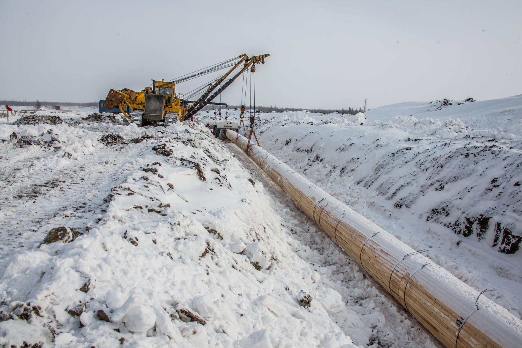 """Společnost JSC """"Transneft - Siberia"""" dokončila pokládku podmořského přechodu ropovodu v Chanty-Mansijském autonomním okruhu Okrug-Jugra"""