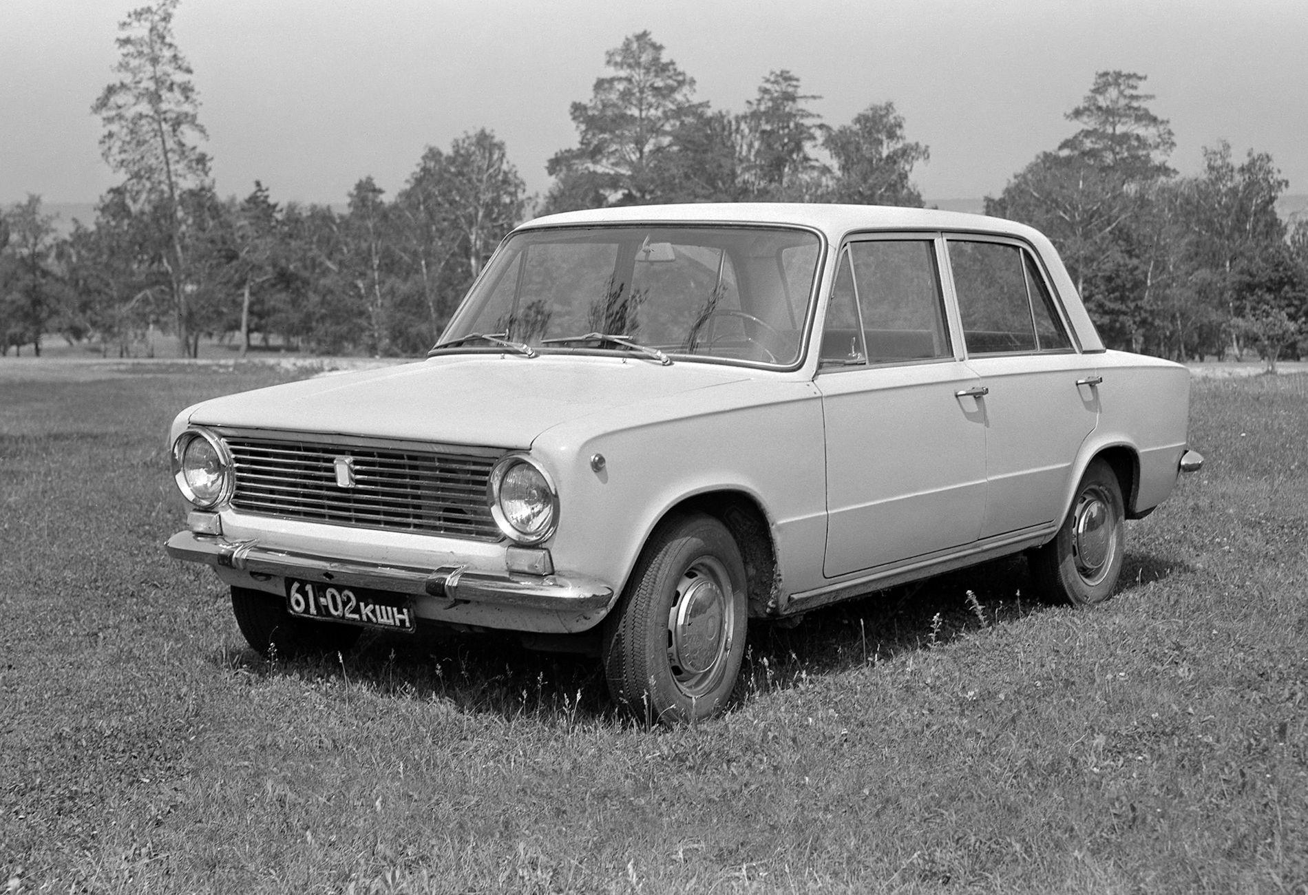 VAZ 2101 (neboli Žiguli či Lada 1200)
