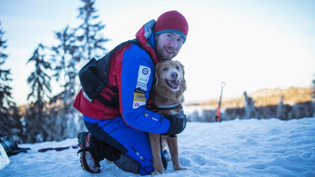 Výcvik záchranného psa je výsledkem tvrdé práce